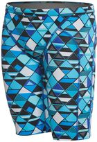 Funky Trunks Men's Blue Steel AOP Training Jammer Swimsuit 8148315