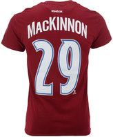 Reebok Men's Short-Sleeve Nathan MacKinnon Colorado Avalanche NHL Player T-Shirt