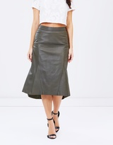 Cooper St Make You Mine Leather Skirt