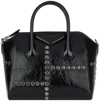Givenchy Small Stud Antigona Bag in Black | FWRD