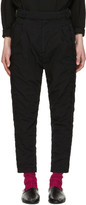 Robert Geller Black Undone Blixa Trousers
