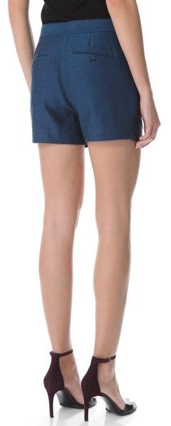 Alexander Wang Pleated Trouser Shorts