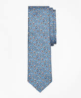 Brooks Brothers Ditsy Floral Silk Tie