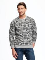 Old Navy Classic Camo-Print Crew-Neck Pullover for Men