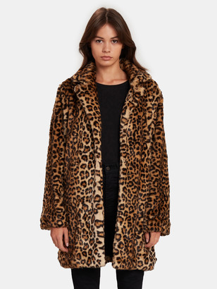 Blank NYC Note to Self Oversized Faux Fur Coat
