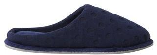 Dearfoams DF by Women's Terry Polka Dot Clog slippers