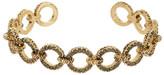 House Of Harlow Eternal Link Crystal Cuff Bracelet