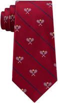 Club Room Men's Tennis Racket Silk Tie, Created for Macy's