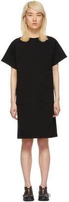 Chimala Black French Terry Dress