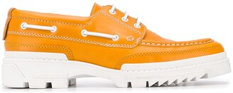 Ami Tractor Sole Boat Shoes