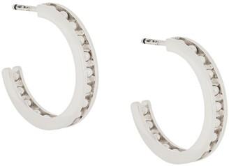 IVI Tiger hoop earrings