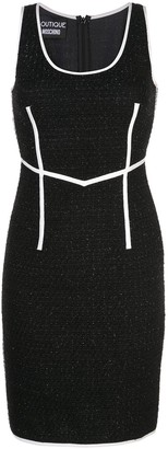 Moschino fitted knee-length dress