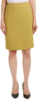 Nine West Stretch Crepe Straight Skirt
