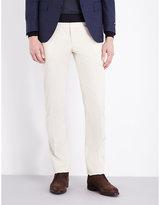 Corneliani Tailored-fit Straight Stretch-cotton Trousers