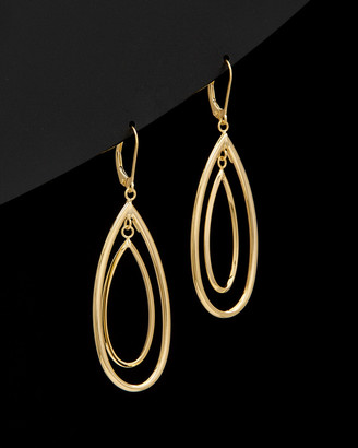 Italian Gold 14K Tear Drop Earrings