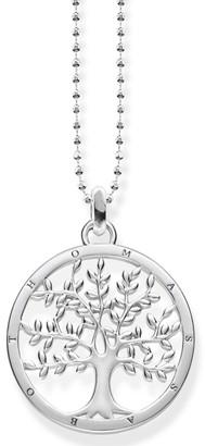 Thomas Sabo Jewellery Ladies Sterling Silver Glam & Soul Tree of Love Necklace KE1660-001-21-L45V