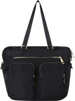 Accessorize Double Pocket Nylon Day Bag