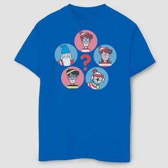 Fifth Sun Boys' Where's Waldo? Group Shot T-Shirt - Royal