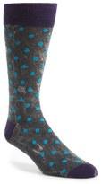 Lorenzo Uomo Stonewashed Dot Socks (3 for $30)