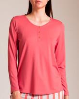 Hanro Sleep and Lounge Henley Shirt