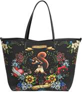 DSQUARED2 Neoprene Tattoo Print Tote Bag