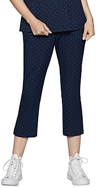 BCBGeneration High-Rise Cropped Flare Pants