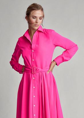 Ralph Lauren Buckled Shirtdress