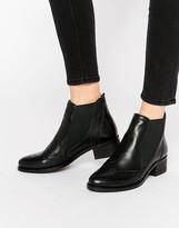 Park Lane Brogue Leather Chelsea Boots