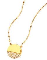 Lana 14k Illusion Disc Diamond Pendant Necklace