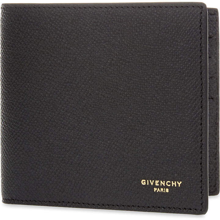 Givenchy Grain leather billfold wallet