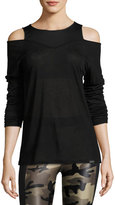 Koral Activewear Hold Long-Sleeve Performance Tee, Black