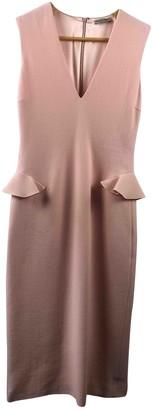 Bottega Veneta Pink Wool Dresses