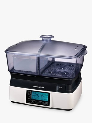 Morphy Richards Compact Intellisteam Food Steamer, White
