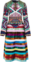 Mary Katrantzou Lark Sequin Embroidered Dress