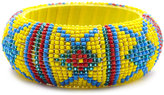 Charlotte Russe Seed Bead Tribal Bangle