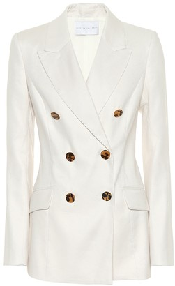 Rebecca Vallance Taylor linen-blend blazer