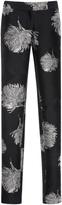 Prabal Gurung Embroidered Straight Leg Pants