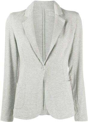 Majestic Filatures Tailored Single-Buttoned Blazer