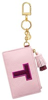 Tory Burch Monogram Card Case Key Fob