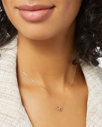 Adina Pave Interlocking Loop Necklace