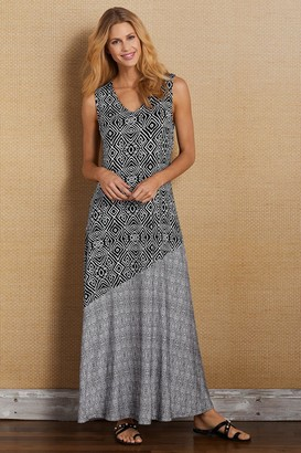 Soft Surroundings Petites Tulum Maxi Dress