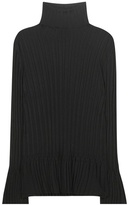 Tory Burch Isla Ribbed Turtleneck Sweater