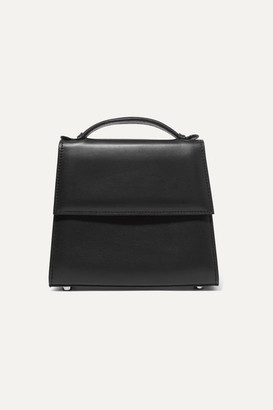 Hunting Season Small Leather Tote - Black