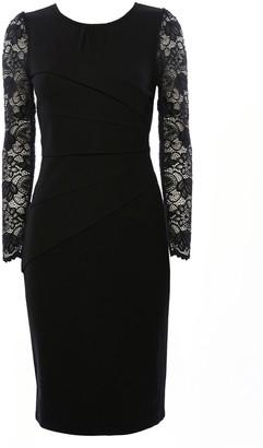 Wallis **Jolie Moi Black Lace Sleeve Bodycon Dress