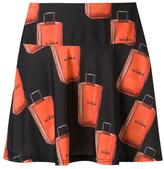 Amir Slama printed A-line skirt