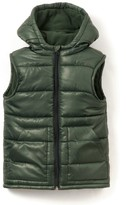 La Redoute Collections Hooded Padded Bodywarmer, 3-12 Years