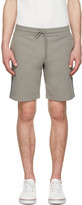 Moncler Grey Side Stripes Shorts