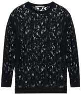 Stella McCartney black lace ines top