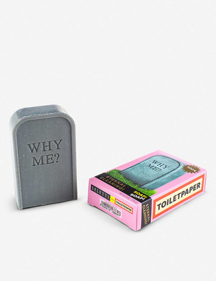 Seletti Wears Toiletpaper Why Me? tombstone soap