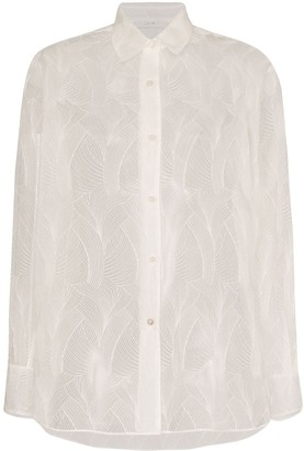 LVIR Sheer Lace Shirt